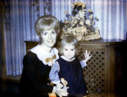 Mom & me 1967.